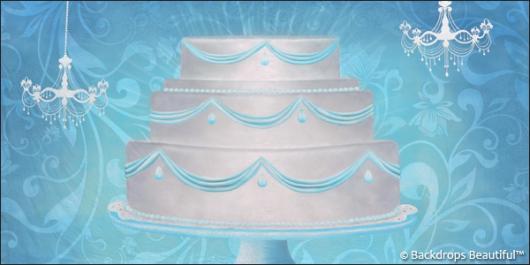 Backdrops: Celebrate 6 Cake