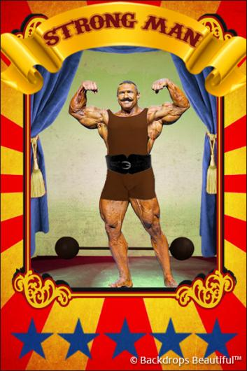Backdrops: Circus Poster 2
