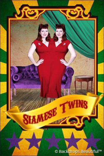 Backdrops: Circus Poster 3
