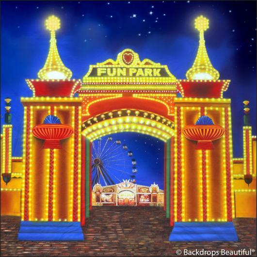 Backdrops: Amusement Park 1