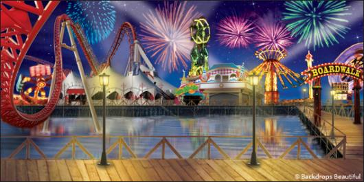 Backdrops: Boardwalk 4