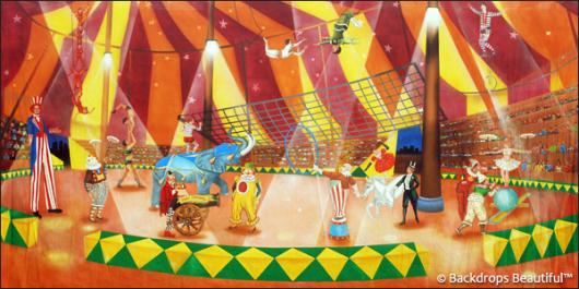 Backdrops: Circus  2 Interior