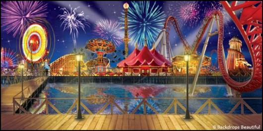 Backdrops: Boardwalk 7