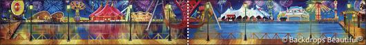 Backdrops: Boardwalk 6 Panel