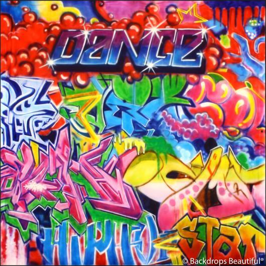 Dance Graffiti Backdrop 15 Backdrops Beautiful