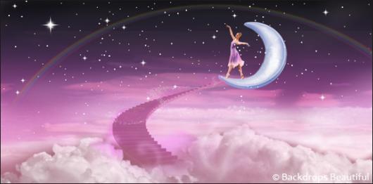 Backdrops: Dance Ballerina 5A