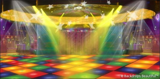 Backdrops: Dance Floor 8