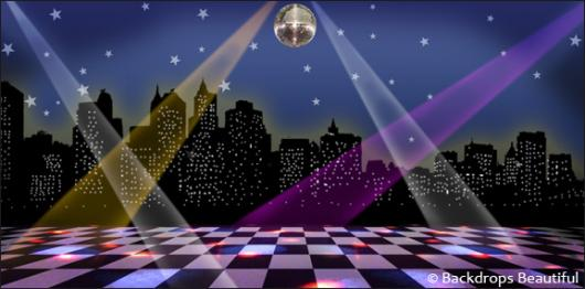 Backdrops: Dance Floor 5B