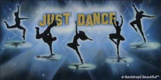 Backdrops: Dance 12B Just Dance