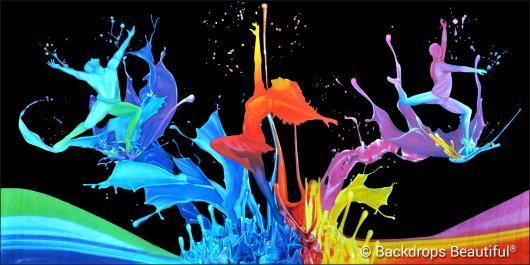 Backdrops: Dance 22B Splash