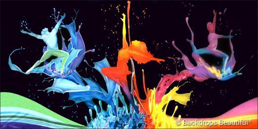 Backdrops: Dance 22C Splash