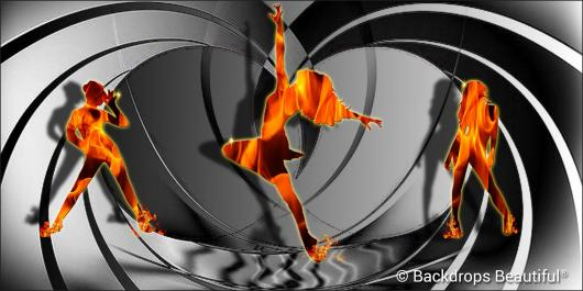 Backdrops: Dance 32 Fire