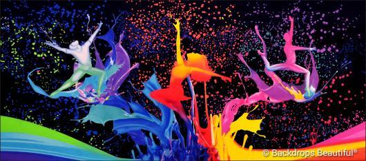 Backdrops: Dance 27 Splash