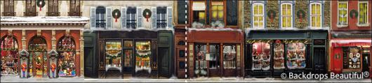 Backdrops: European Street Scene 8(panel) (Alt View)