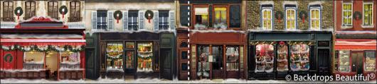 Backdrops: European Street Scene 9(panel) (Alt View)