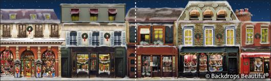 Backdrops: European Street Scene 8B Panel