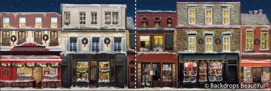 Backdrops: European Street Scene 9B Panel