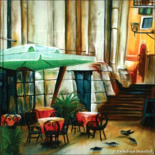 Backdrops: Street Cafe