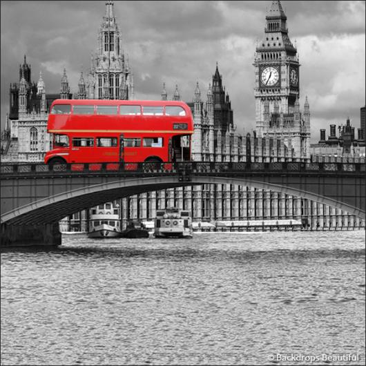 Backdrops: London Skyline 4 Bus