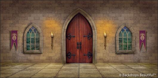 Backdrops: Medieval Castle Interior 2
