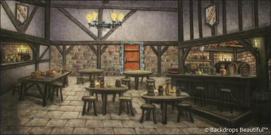 Backdrops: Tavern Interior 2