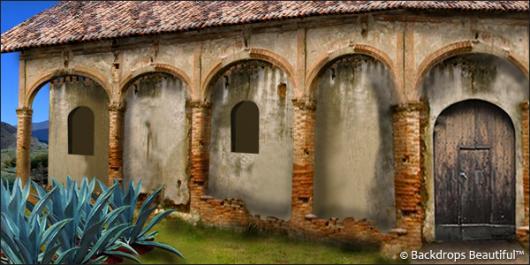 Backdrops: Hacienda 1
