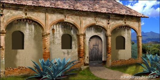 Backdrops: Hacienda 2