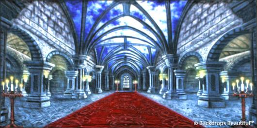 Backdrops: Medieval Castle Interior 5