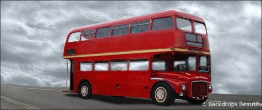 Backdrops: London Bus 1 Red