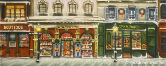 Backdrops: European Street Scene 4A