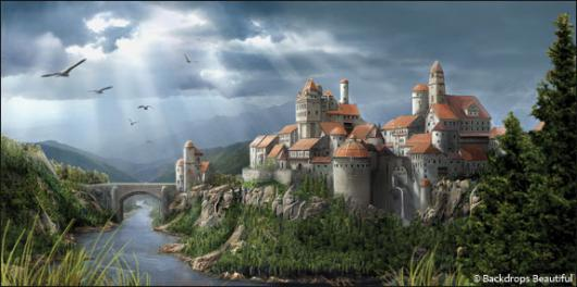 Backdrops: Castle 2