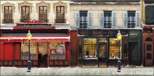 Backdrops: European Street Scene 2A