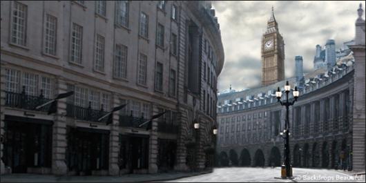 Backdrops: London Streets 1A