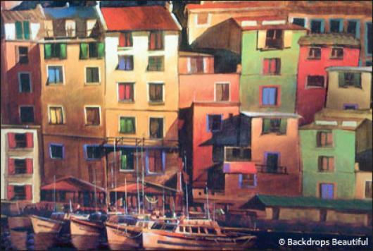 Backdrops: European Waterfront