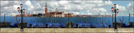 Backdrops: European 1A Gondolas