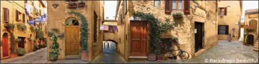 Backdrops: European 1D Streets