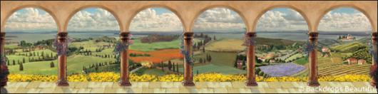 Backdrops: European 1F Columns