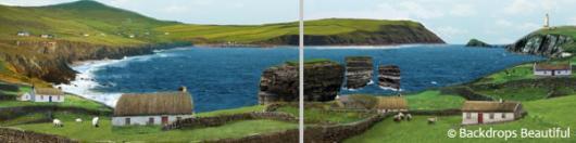 Backdrops: Coastal Landscape 2 Panel