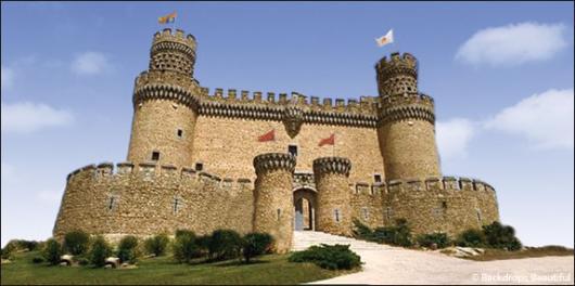 Backdrops: Castle 1