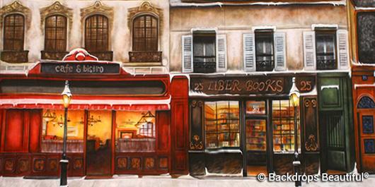 Backdrops: European Street Scene 1A