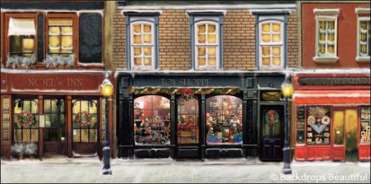 Backdrops: European Street Scene 1B