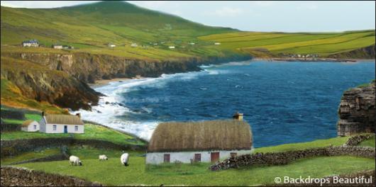 Backdrops: Coastal Landscape 1A