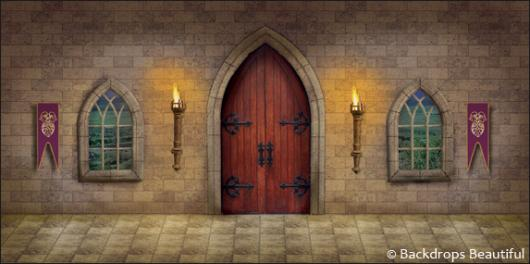 Backdrops: Medieval Castle Interior 1