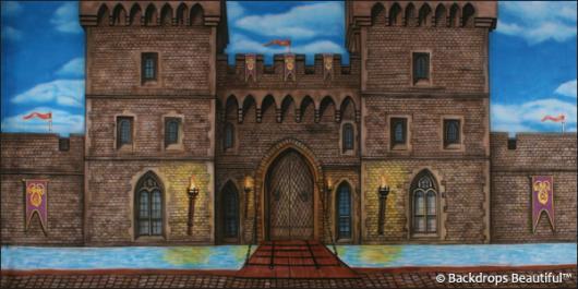Backdrops: Medieval Castle 2