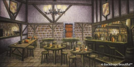 Backdrops: Tavern Interior 1