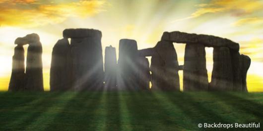 Backdrops: Stonehenge