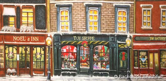 Backdrops: European Street Scene 6B