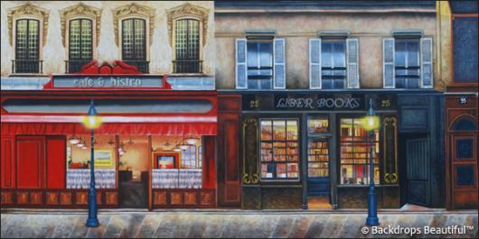 Backdrops: European Street Scene 7A