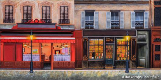 Backdrops: European Street Scene 10A