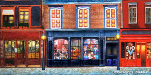 Backdrops: European Street Scene 10B